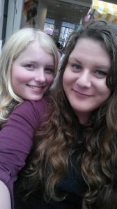 joanne en ik selfie