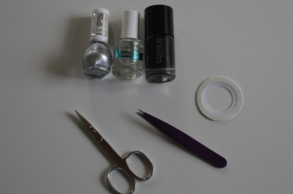 Manicure Maandag – Up Side Down Triangle