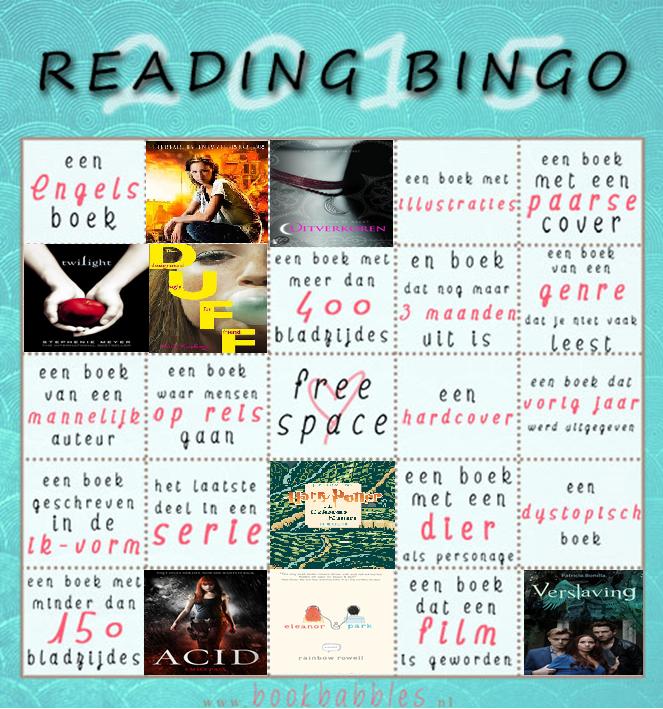 Reading Challenge Update Maart 2015