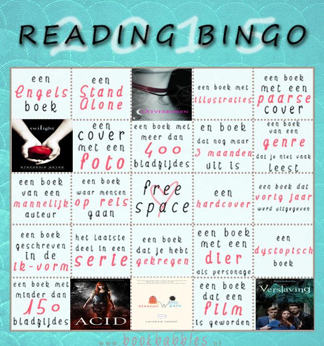 Reading Challenge Update Februari
