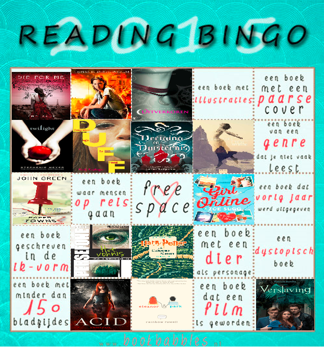 Reading Challenge Update Mei 2015