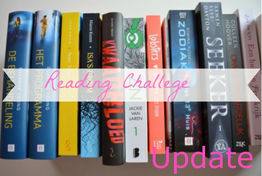 Reading Challenge Update Juli 2015