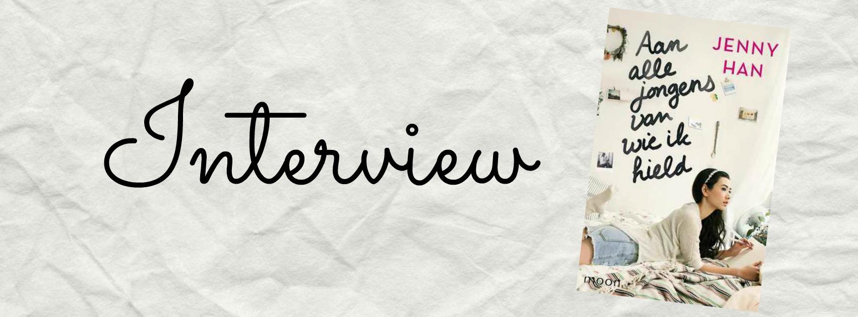 Interview met Jenny Han