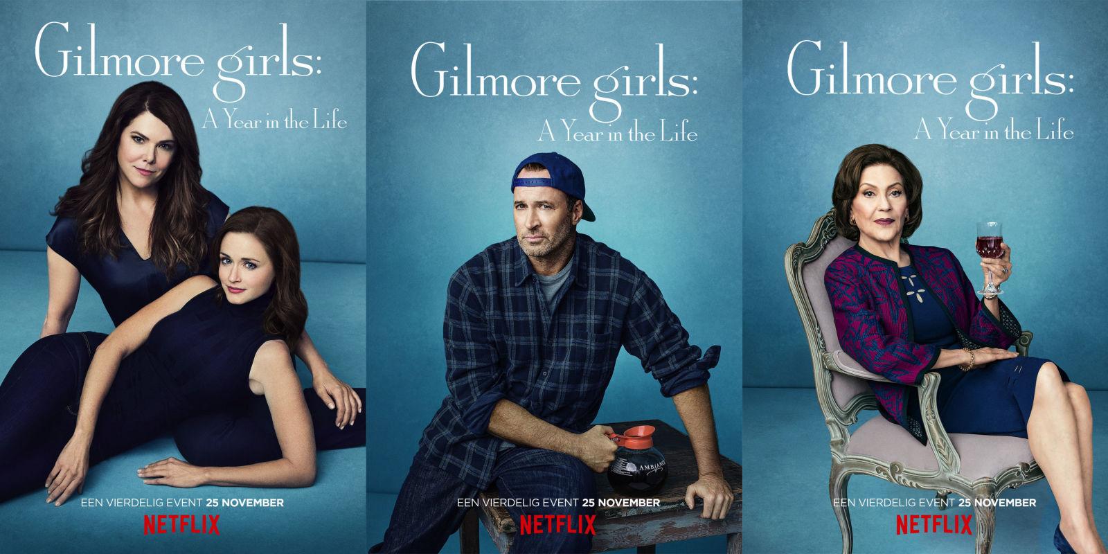 Mijn reactie op Gilmore Girls Trailer