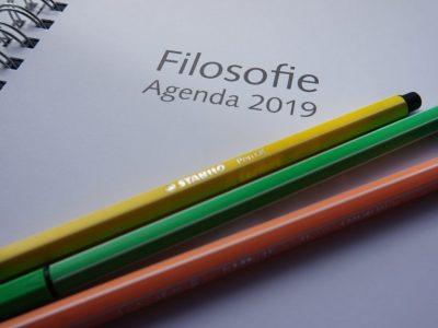 Filosofie agenda 2019 samengesteld door…