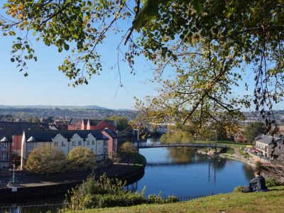 Exeter: afspraken, beker warme choco en Corkscrew