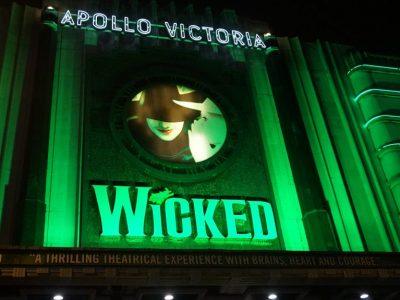 Londen: Wicked met Halloween
