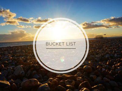 5 punten op mijn Bucket List 2019
