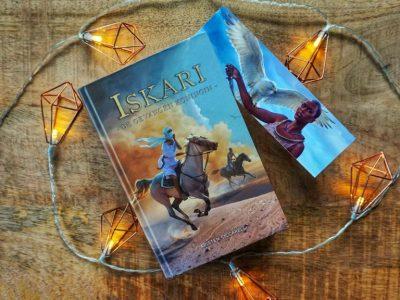 De gevangen koningin (Iskari #2) – Kristen Ciccarelli