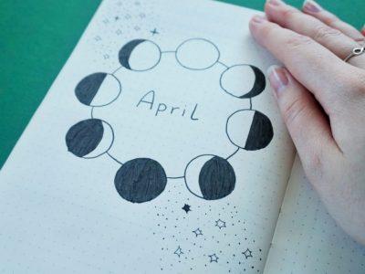 Bullet Journal April '20