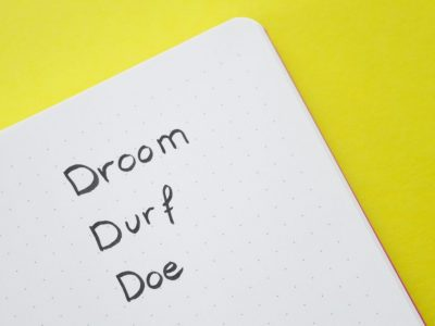 Ronde 2 Instacursus: droom, durf, doe
