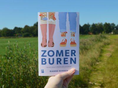 Interview Rianne Robben, auteur 'Zomerburen'