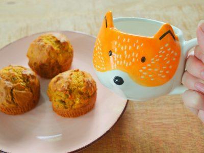 Recept vegan pompoen muffins