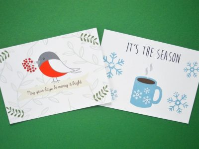 Stuur een kaart met de feestdagen!