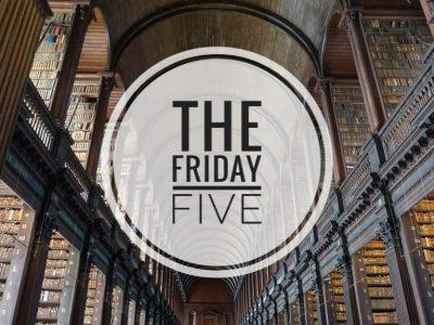 5 Boeken die ik snel uitlas | The Friday Five