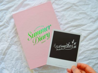 Unboxing BlackPink Summer Diary 2021